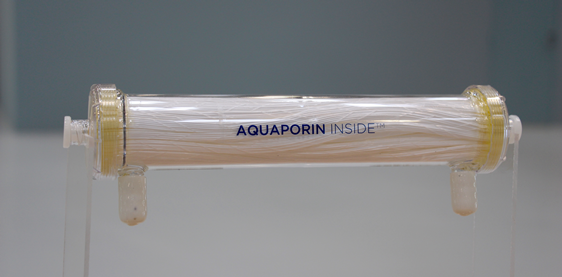 Aquaporin Inside™ hollow fiber membrane filter. (Photo Aquaporin Space Alliance/Aquaporin A/S)